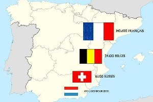 Résidant francophones en Espagne